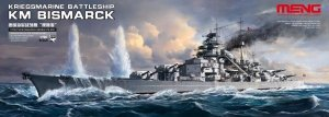 Meng Model PS-003 KM Battleship Bismarck (1:700)