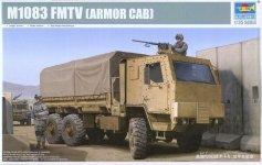 Trumpeter 01008 M1083 FMTV Cargo Truck w/ Armor Cab (1:35)