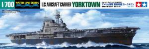 Tamiya 31712 U.S. Aircraft Carrier Yorktown CV-5 1/700