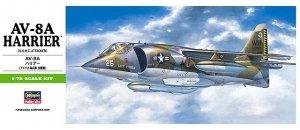 Hasegawa B10 AV-8A Harrier (1:72)
