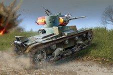 Hobby Boss 83810 Soviet T-26 Light Infantry Tank Mod.1936-1937 (1:35)