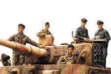 Hobby Boss 84401 German Panzer Tank Crew Normandy 1944 1/35