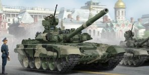Trumpeter 05562 Russian T-90 MBT (1:35)