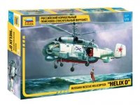 """Zvezda 7247 Kamov KA-27 PD """"Helix D"""" Russian rescue helicopter  1/72"""