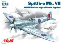 ICM 48062 Spitfire Mk .VII WWII British fighter (1:48)