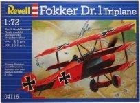 Revell 04116 Fokker DR. 1 (1:72)