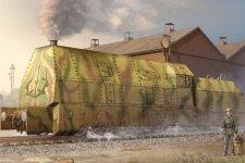 Trumpeter 00219 German Panzerlok BR57 Armoured Locomotive (1:35)