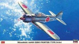 Hasegawa 09821 Mitsubishi A6M8 Zero Fighter Type 54/64 1:48