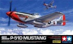 Tamiya 60322 North American P-51D Mustang (1:32)