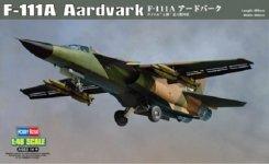 Hobby Boss 80348 General-Dynamics F-111A Aardvark (1:48)