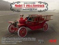 ICM 24004 Model T 1914 Firetruck 1/24