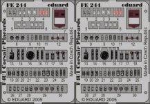 Eduard FE244 F4U-1 placards 1/48