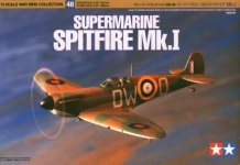 Tamiya 60748 Supermarine Spitfire Mk.I 1/72