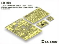 """E.T. Model E35-005 WWII German Sd.Kfz.138/1 Ausf.H 15cm sIG33/1 """"Grille"""" (For DRAGON 6470) (1:35)"""