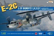 Kinetic K48014 E-2C Hawkeye JASDF (1:48)