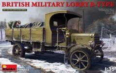MiniArt 39003 BRITISH MILITARY LORRY B-TYPE 1/35