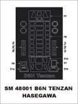 Montex SM48001 B6N Tenzan HASEGAWA