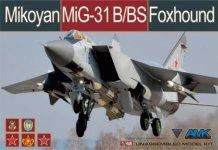 AMK 88008 Mikoyan MiG-31B/BS Foxhound (1:48)