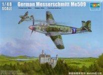 Trumpeter 02849 Messerschmitt Me 509 (1:48)