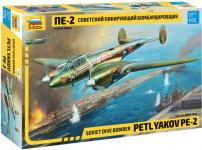 Zvezda 7283 Petlyakov Pe-2 1/72