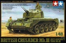 Tamiya 32546 Crusader Mk.III Anti-Aircraft Tank (1:48)