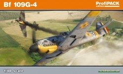 Eduard 82117 Bf 109G-4 1/48
