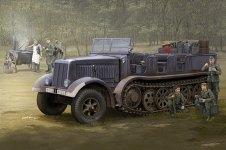 Trumpeter 09538 Sd.Kfz.8 (DB9)Half-Track Artillery Tractor 1/35