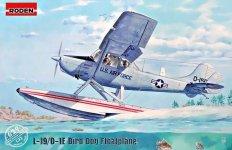Roden 629 Bird Dog Floatplane L-19/O-1 1/32
