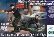 Master Box 24065 The Heist series, Kit No. 2 The Johnson brothers (Bobby and Billy) 1/24