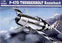 Trumpeter 02262 P-47D Thunderbolt Razorback (1:32)