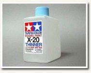 Tamiya X20 Enamel Thinner 250ml (80040)