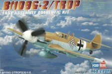 Hobby Boss 80224  Bf-109 G-2/Trop (1:72)