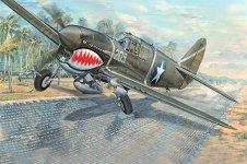 Trumpeter 03227 P-40F War Hawk 1/32