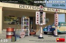 MiniArt 35598 GERMAN GAS STATION 1930-40s 1/35
