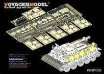 Voyager Model PE351030  Syrian T-34/D30 122mm SPH Basic For RFM 5030 1/35