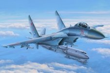 Hobby Boss 81712 Su-27 Flanker Early 1/48