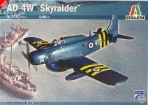 Italeri 2757 AD-4W Skyraider (1:48)