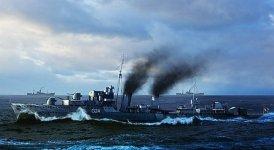 Trumpeter 05333 HMCS Huron Destroyer 1944 (1:350)