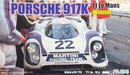 Fujimi 126142 Porsche 917K `71 Le Mans Winner 1/24