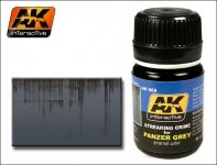 AK Interactive AK 069 Streaking Grime For Panzer Grey 35ml