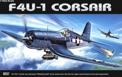 Academy 12457 F4U-1 Corsair (1:72) (1657)
