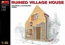MiniArt 35520 RUINED VILLAGE HOUSE (1:35)
