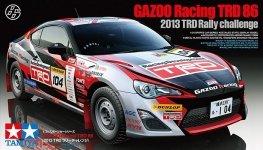Tamiya 24337 GAZOO Racing TRD 86 (2013 TRD Rally challenge) (1:24)