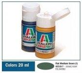 Italeri 4314 FLAT MEDIUM GREEN (I) 20ml