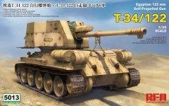Rye Field Model 5013 T-34/122 Egyptian 1/35