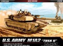 Academy 13298 U.S. Army M1A2 TUSK II 1/35