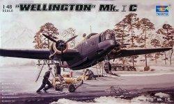 Trumpeter 02808 WELLINGTON Mk.1C (1:48)