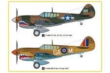 Hobby Boss 85801 P-40E Kittyhawk (1:48)