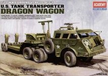 Academy 13409 US Tank Transporter Dragon Wagon (1:72)