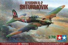 Tamiya 60781 Ilyshin IL-2 Shturmovik (1:72)